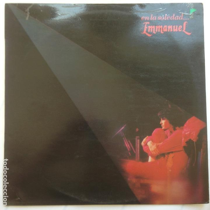 EMMANUEL - EN LA SOLEDAD... 1983 (Música - Discos - LP Vinilo - Grupos y Solistas de latinoamérica)