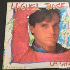 Discos de vinilo: MIGUEL BOSÉ - LA CHULA. Lote 209262403