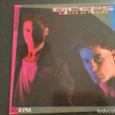 Discos de vinilo: BÍCEPS - MUÑECO DE FICCIÓN. Lote 209262627
