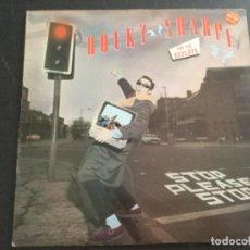 Disques de vinyle: ROCKY SHARPE - STOP PLEASE STOP. Lote 209264542