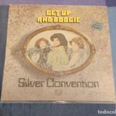 Discos de vinilo: LP SILVER CONVENTION GET UP AND BOOGIE ALEMANIA 1976 BUEN ESTADO. Lote 209303363