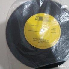 Discos de vinilo: SINGLE LA VOZ DE HITLER I Y II. EL FASCISMO: GENESIS Y DESARROLLO. REF,. UR. Lote 209304042