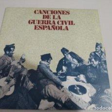 Discos de vinilo: SINGLE CANCIONES DE LA GUERRA CIVIL ESPAÑOLA. NOVIO DE LA MUERTE REF. UR. Lote 209304230