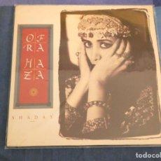 Discos de vinilo: LP OPRAH HAZA SHADAY CORRECTO 1988 ESTADO DECENTE. Lote 209304371