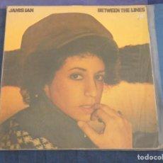 Discos de vinilo: LP JANIS IAN ENTRE LINEAS AUN ACEPTABLE ESPAÑA 1975 BUEN ESTADO. Lote 209306903