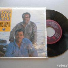 Discos de vinilo: LOS DEL RIO *MACARENA* SINGLE PROMO 1993 EX/VG++. Lote 209315841