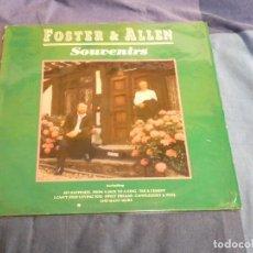 Discos de vinilo: LP DESDE UN EURO FOSTER AND ALLEN SOUVENIRS CANCION LIGERA UK 1990. Lote 209317368