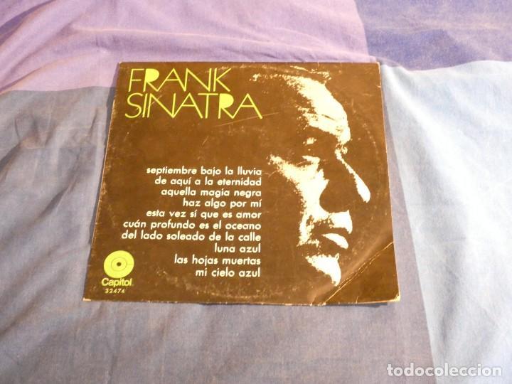 CURIOSO LP ESPAÑOL DIEZ PULGADAS FRANK SINATRA AÑOS 70 (Música - Discos - LP Vinilo - Pop - Rock Internacional de los 50 y 60)