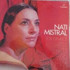 Discos de vinilo: NATI MISTRAL , CON LOS GEMELOS. COLUMBIA 1970. Lote 209322001