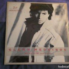Discos de vinilo: DOBLE LP GLENN MADEIROS ONCE IN A LIFETIME DOBLE ESTADO CORRECTO. Lote 209326961