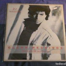 Discos de vinilo: DOBLE LP GLENN MADEIROS ONCE IN A LIFETIME DOBLE ESTADO CORRECTO. Lote 209327058