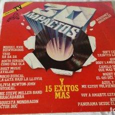 Discos de vinilo: 3-2 LP- 30 IMPACTOS, 1982. Lote 209327868