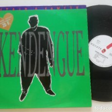 Discos de vinilo: PIERRE AKENDENGUE - SPOIR A SOWETO - LP MELODIE FRANCIA 1988. Lote 209327915