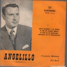 Disques de vinyle: ANGELILLO - ESTOY ENFERMO / EP COLUMBIA DE 1959 RF-4359. Lote 209328933