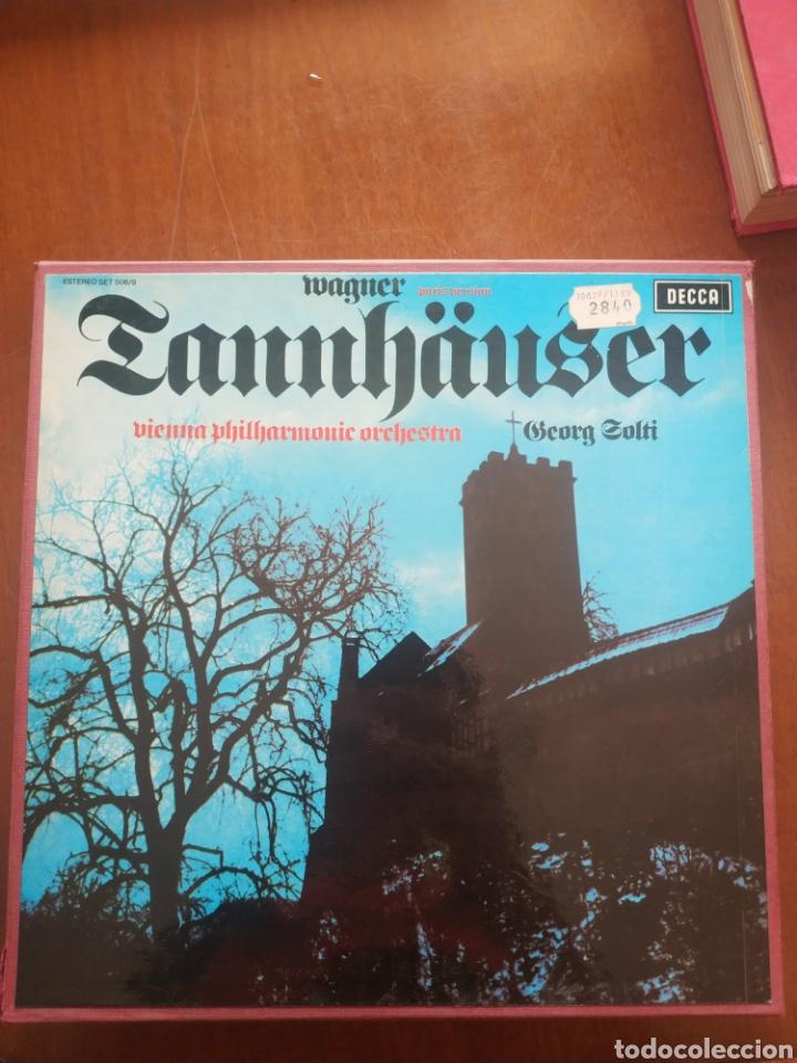 WAGNER TANNHAUSER VIENNA PHILHARMONIC ORCHESTRA ORCHESTRA (Música - Discos de Vinilo - Maxi Singles - Clásica, Ópera, Zarzuela y Marchas)