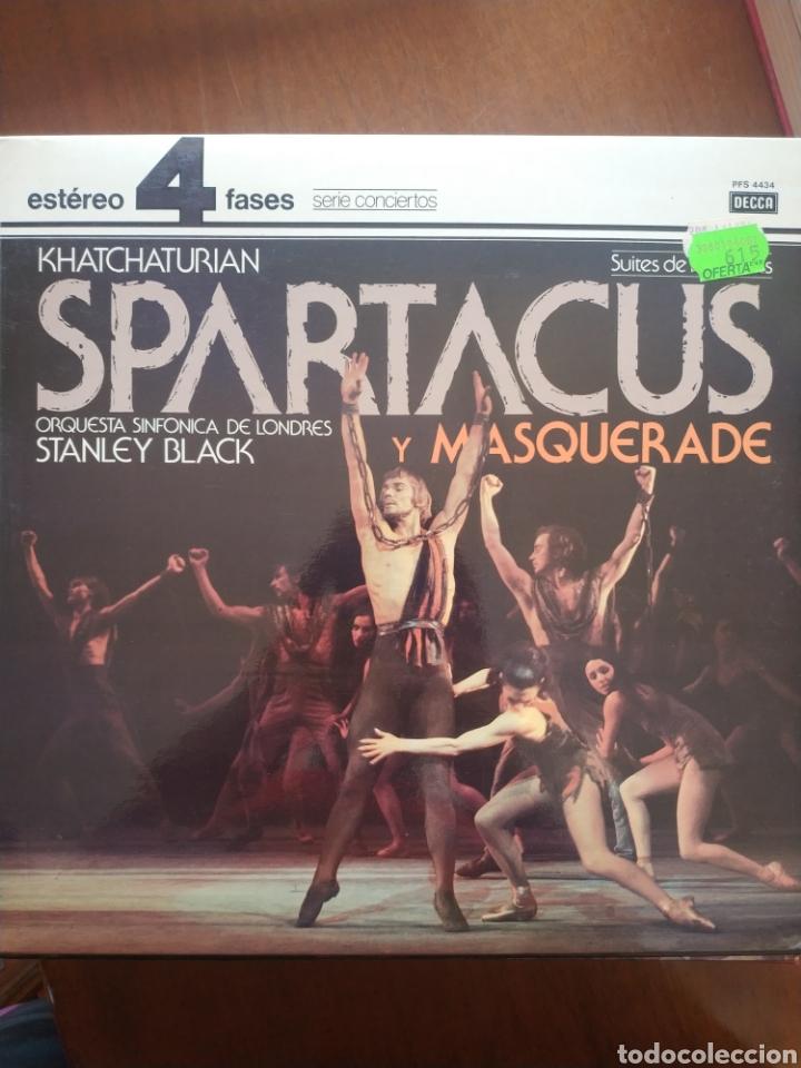 KHATCHATURIAN SPARTACUS Y MASQUERADE (Música - Discos de Vinilo - Maxi Singles - Orquestas)