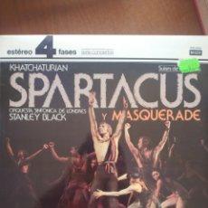 Discos de vinilo: KHATCHATURIAN SPARTACUS Y MASQUERADE. Lote 209334325