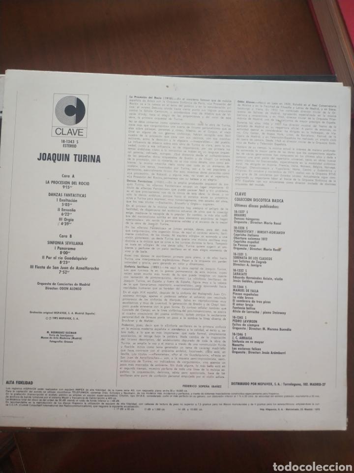 Discos de vinilo: La procesión del Rocío danzas fantásticas y sinfonía sevillana - Foto 2 - 209334533