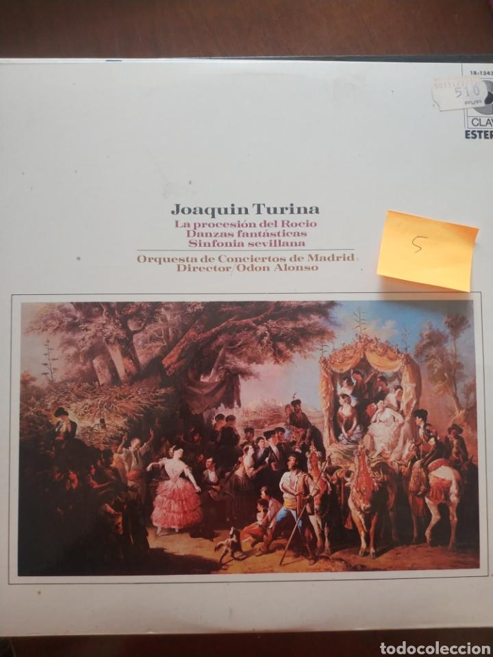 LA PROCESIÓN DEL ROCÍO DANZAS FANTÁSTICAS Y SINFONÍA SEVILLANA (Música - Discos de Vinilo - Maxi Singles - Orquestas)