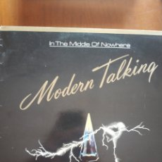 Discos de vinilo: IN THE MIDDLE OF NOWHERE MODERN TALKING 4ALBUM. Lote 209335398