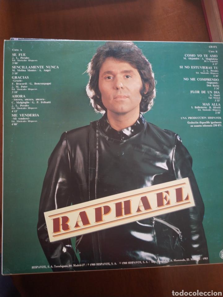 Discos de vinilo: Rafael y sigo mi camino - Foto 2 - 209335805