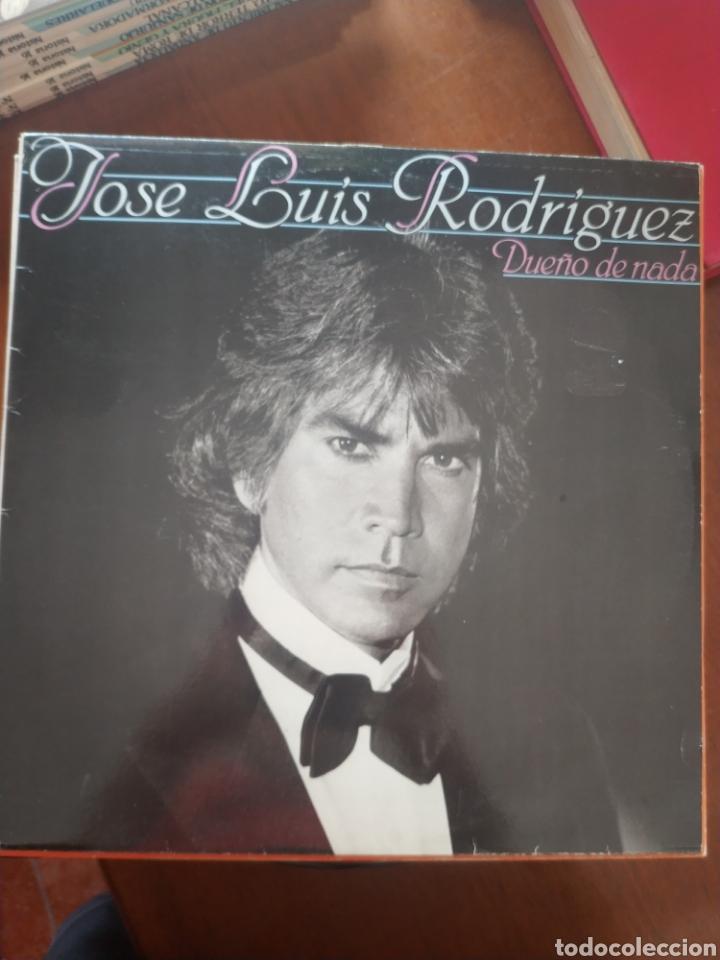 JOSÉ LUIS RODRÍGUEZ DUEÑO DE NADA (Música - Discos de Vinilo - Maxi Singles - Flamenco, Canción española y Cuplé)