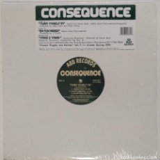 """Discos de vinilo: CONSEQUENCE - TURN YASELF IN [ US HIP HOP / RAP EXCLUSIVO ] [[MX 12"""" 45RPM]] [[2003]]. Lote 209336078"""