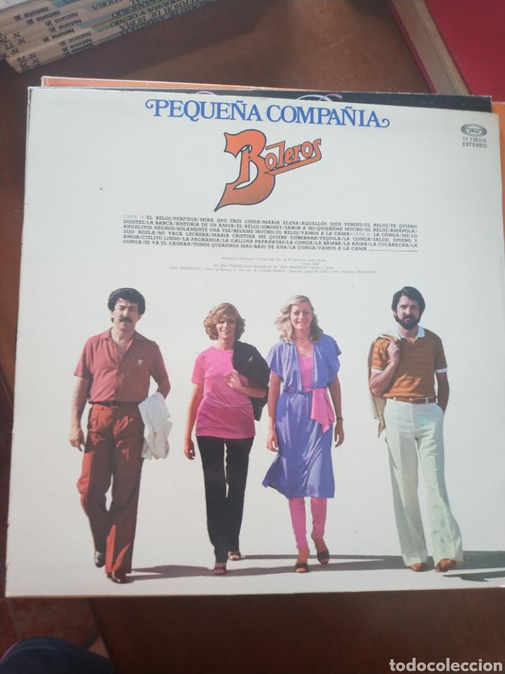 Discos de vinilo: Pequeña compañía boleros - Foto 2 - 209336108