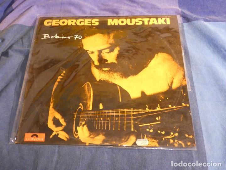 GEORGES MOUSTAKI BOHEMIO 70 LP EN BUEN ESTADO (Música - Discos - LP Vinilo - Pop - Rock Internacional de los 50 y 60)