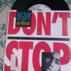 Dischi in vinile: SINGLE ( VINILO) DE M.C. SAR & THE REAL MC COY FEATURING SUNDAY AÑOS 90. Lote 209337015