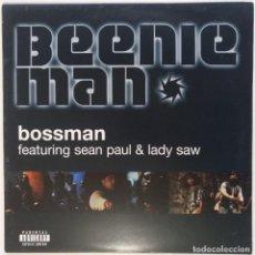 "Discos de vinilo: BEENIE MAN - BOSSMAN [[ US HIP HOP / REGGAE / DANCEHALL EXCLUSIVO ]] [[MX 12"" 33RPM] [2002]]. Lote 209339406"