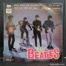 Dischi in vinile: THE BEATLES EP HERE THERE AND EVERYWHERE + 3 1966. Lote 209343435