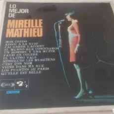 Discos de vinilo: MIREILLE MATHIEU LO MEJOR DE...LP 1968 BARCLAY EDICION ESPAÑOLA.. Lote 209343550
