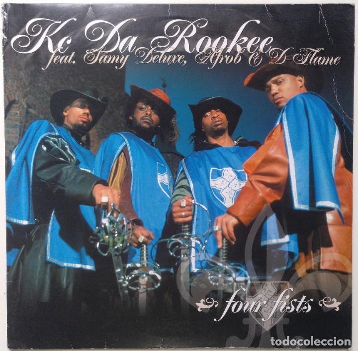 "KC DA ROOKEE FT. SAMY DELUXE, AFROB & D-FLAME [ GERMANY HIP HOP EXCLUSIVO ]] [MX 12"" 45RPM] [2002]] (Música - Discos de Vinilo - Maxi Singles - Rap / Hip Hop)"