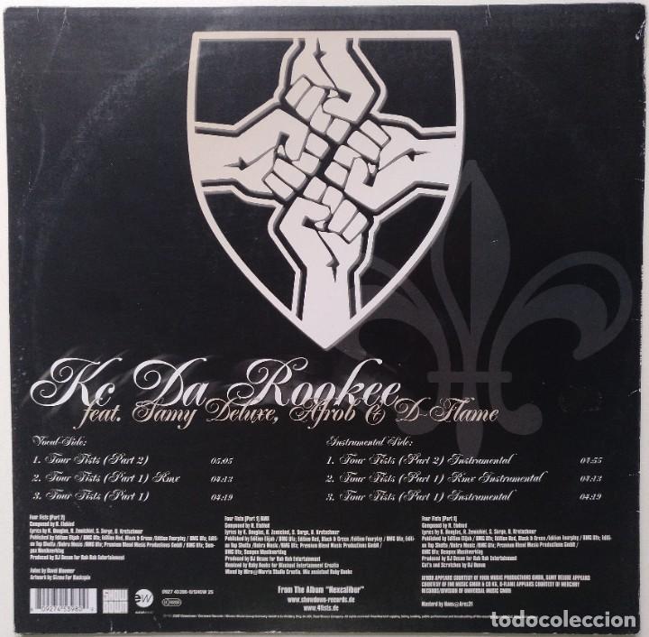 """Discos de vinilo: KC DA ROOKEE Ft. SAMY DELUXE, AFROB & D-FLAME [ GERMANY HIP HOP EXCLUSIVO ]] [MX 12"""" 45RPM] [2002]] - Foto 2 - 209356086"""