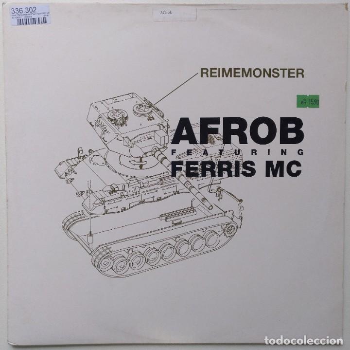 "AFROB FT. FERRIS MC - REIMEMONSTER [[ GERMANY HIP HOP / RAP EXCLUSIVO ]] [[MX 12"" 45RPM] [1999]] (Música - Discos de Vinilo - Maxi Singles - Rap / Hip Hop)"