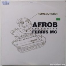 "Discos de vinilo: AFROB FT. FERRIS MC - REIMEMONSTER [[ GERMANY HIP HOP / RAP EXCLUSIVO ]] [[MX 12"" 45RPM] [1999]]. Lote 209356756"