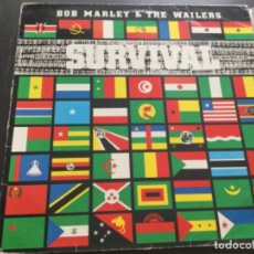 Disques de vinyle: BOB MARLEY AND THE WAILERS - SURVIVAL. Lote 209357020