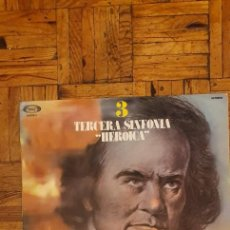 Discos de vinilo: LUDWIG VAN BEETHOVEN, THE LONDON SYMPHONY ORCHESTRA ?– 3 TERCERA SINFONIA HEROICA SELLO: MOVIEPLAY. Lote 209357991