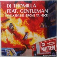 "Discos de vinilo: DJ THOMILLA FT. GENTLEMAN - WICKEDNESS [[ GERMANY HIP HOP / RAP EXCLUSIVO ]] [MX 12"" 45RPM] [1999]]. Lote 209358751"
