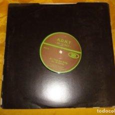 Discos de vinilo: A.D.N.Y. ON 10 INCH. ALEXI DELANO. 10 PULGADAS (#). Lote 209359855