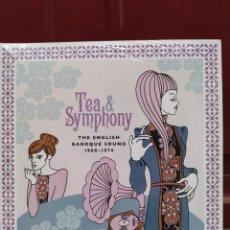 Discos de vinilo: TEA & SYMPHONY (THE ENGLISH BAROQUE SOUND 1968-1974) DOBLE LP VINILO PRECINTADO.. Lote 209360693