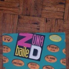 Discos de vinilo: ZONA DE BAILE + ZONA DE BAILE VOLUMEN 2 - 4 LPS. Lote 209362096