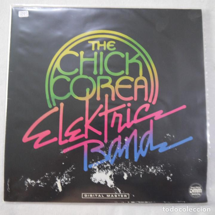 THE CHICK COREA ELEKTRIC BAND - THE CHICK COREA ELEKTRIC BAND - LP 1986 GERMANY (Música - Discos - LP Vinilo - Jazz, Jazz-Rock, Blues y R&B)