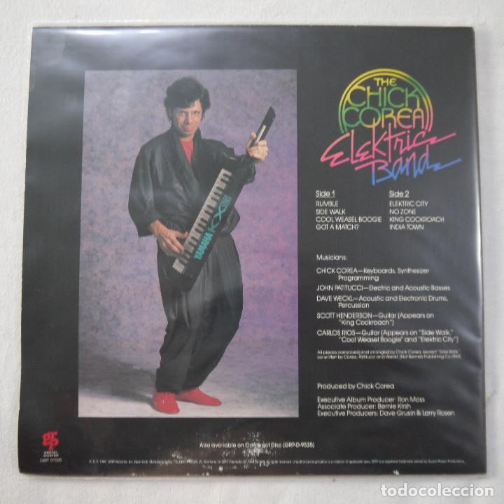 Discos de vinilo: THE CHICK COREA ELEKTRIC BAND - THE CHICK COREA ELEKTRIC BAND - LP 1986 GERMANY - Foto 2 - 209365696