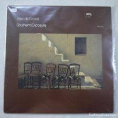 Discos de vinilo: ALEX DE GRASSI - SOUTHERN EXPOSURE - LP 1984 HOLLAND. Lote 209366058