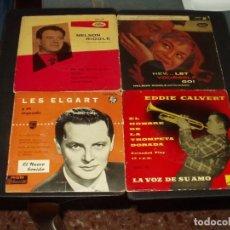 Discos de vinilo: LOTE 9 EP'S (UNO DOBLE) ORQUESTA FINALES AÑOS 50 PRIMEROS 60. Lote 209371358