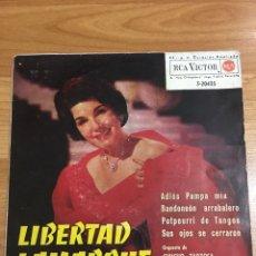 Discos de vinilo: LIBERTAD LAMARQUE. Lote 209382790