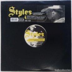 """Discos de vinilo: STYLES - A GANGSTER AND A GENTLEMAN [[ US HIP HOP / RAP VINILO EXCLUSIVO ]] [2LP 12"""" 33RPM] [2002]]. Lote 209384668"""