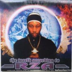 "Discos de vinilo: RZA - THE WORLD ACCORDING TO RZA [[ US HIP HOP / RAP VINILO EXCLUSIVO ]] [2LP 12"" 33RPM] [2003]]. Lote 209385365"